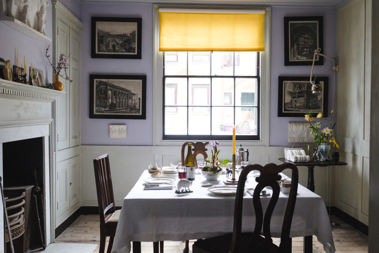 Pedro da Costa Felgueiras - Georgian House Renovation - Varden Street - Aucoot - Dining room