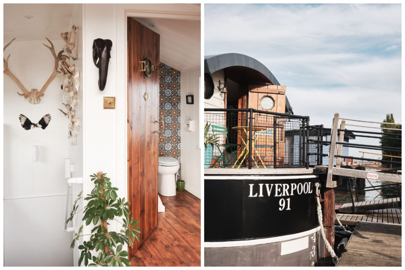 Aucoot - Liverpool 91 - House boat for sale